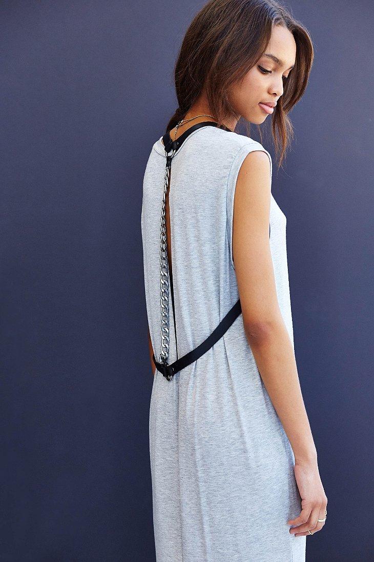New-Womens-Urban-Outfitters-Silence-Noise-Clea-Midi-Tshirt-Dress-Gray-Xs-M-69 thumbnail 3