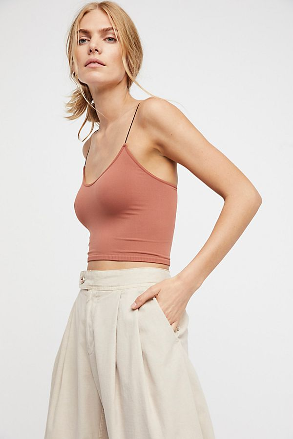 Free-People-Intimate-Seamless-Thin-Skinny-Strap-Brami-Cami-Tank-Top-Xs-L-20 thumbnail 24
