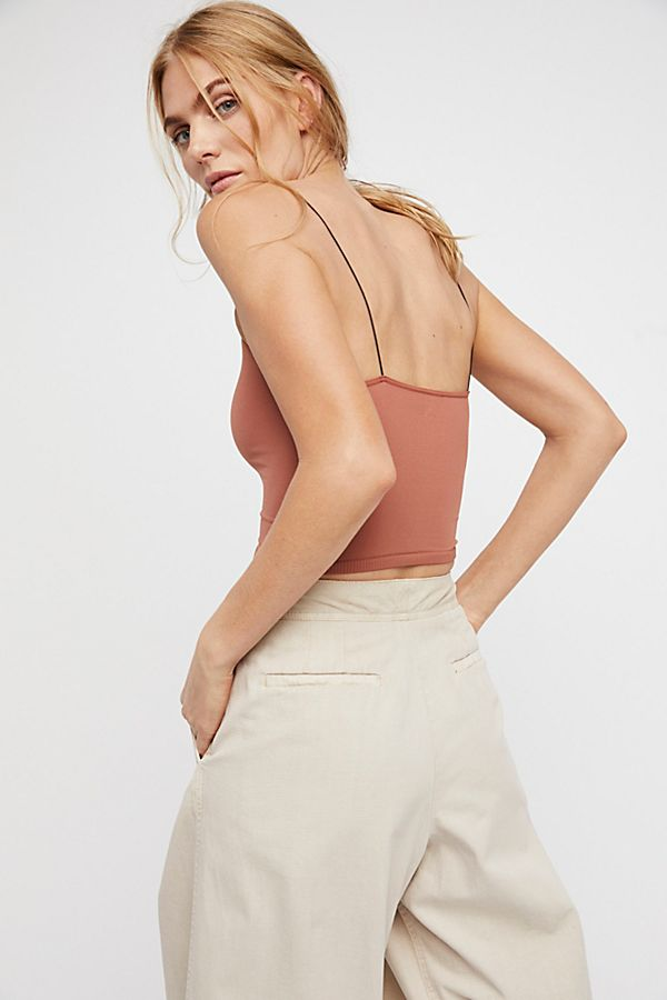 Free-People-Intimate-Seamless-Thin-Skinny-Strap-Brami-Cami-Tank-Top-Xs-L-20 thumbnail 25