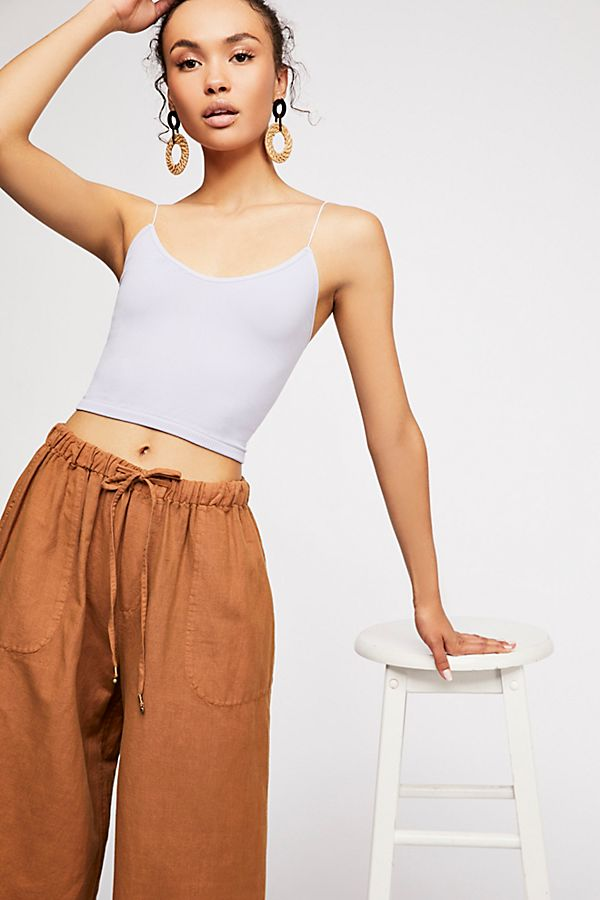 Free-People-Intimate-Seamless-Thin-Skinny-Strap-Brami-Cami-Tank-Top-Xs-L-20 thumbnail 6