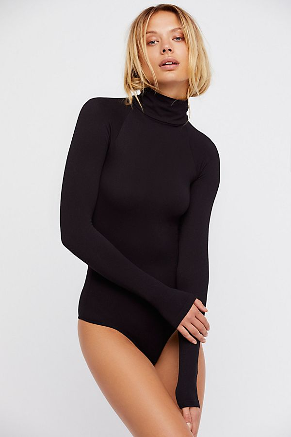 New-Free-People-Intimate-Seamless-Turtleneck-Bodysuit-Long-Sleeve-Top-Xs-L-48 thumbnail 19