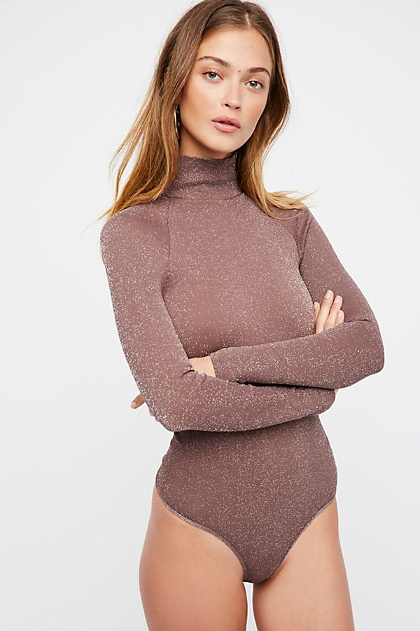 New-Free-People-Intimate-Seamless-Turtleneck-Bodysuit-Long-Sleeve-Top-Xs-L-48 thumbnail 3