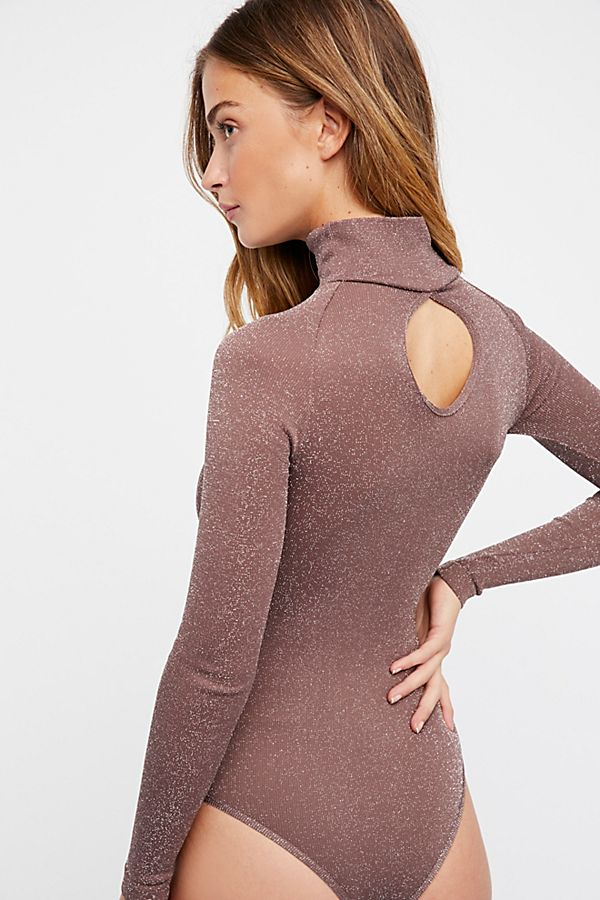 New-Free-People-Intimate-Seamless-Turtleneck-Bodysuit-Long-Sleeve-Top-Xs-L-48 thumbnail 4