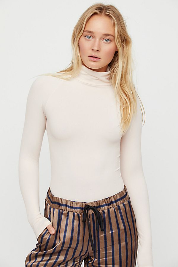 New-Free-People-Intimate-Seamless-Turtleneck-Bodysuit-Long-Sleeve-Top-Xs-L-48 thumbnail 16