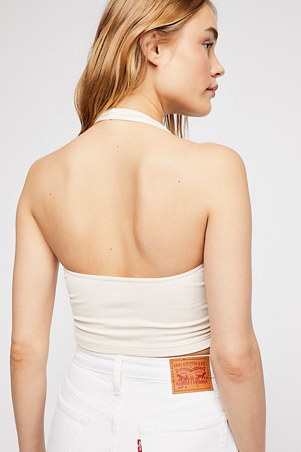 New-Free-People-Intimate-Seamless-Good-Time-Halter-Crop-Top-Brami-Multicolor-20 thumbnail 9