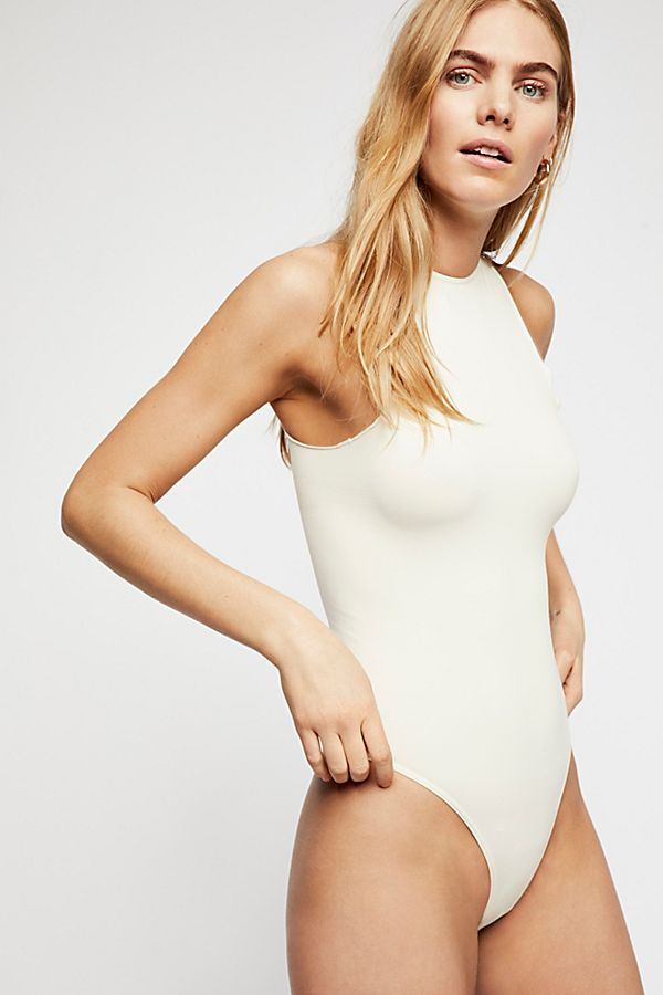 New-Free-People-Womens-Seamless-Mock-Neck-One-Piece-Feels-Right-Bodysuit-40 thumbnail 17