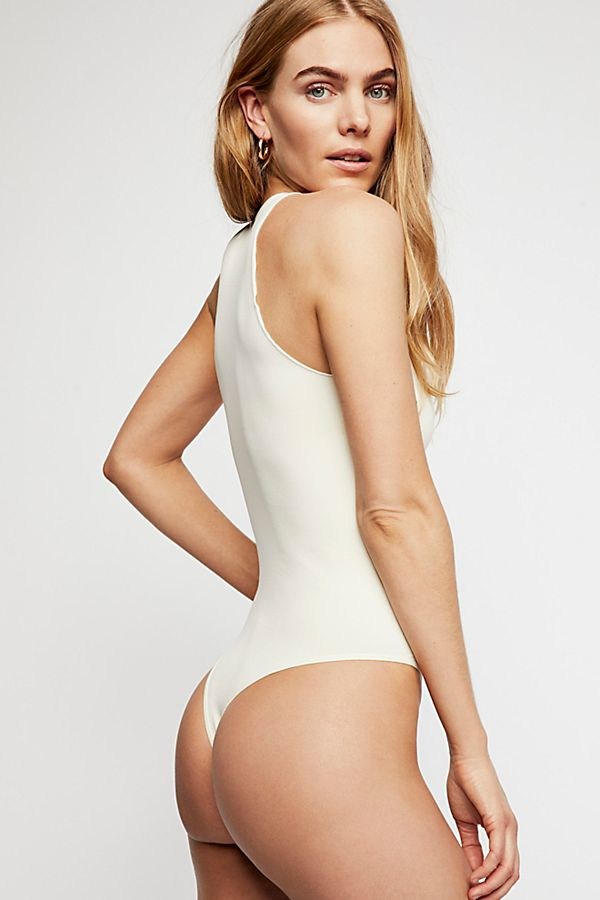New-Free-People-Womens-Seamless-Mock-Neck-One-Piece-Feels-Right-Bodysuit-40 thumbnail 15