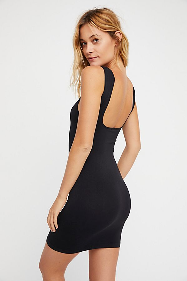 New  Intimately by Free People TSquare Neck Seamless Slip Size XS//S