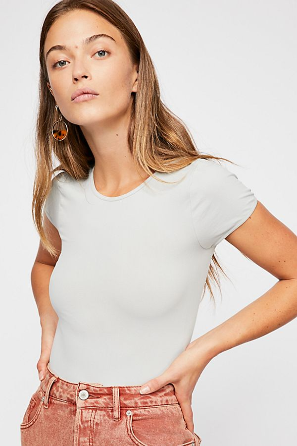 Free-People-Intimate-Cap-Sleeve-Seamless-Cami-Simple-Solid-Crop-Top-Colors-Xs-L thumbnail 31