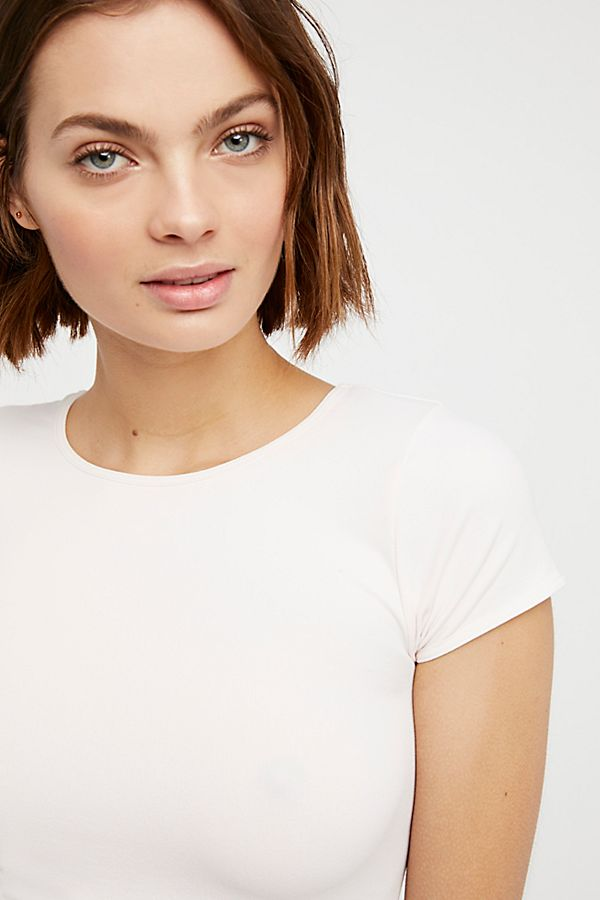 Free-People-Intimate-Cap-Sleeve-Seamless-Cami-Simple-Solid-Crop-Top-Colors-Xs-L thumbnail 21