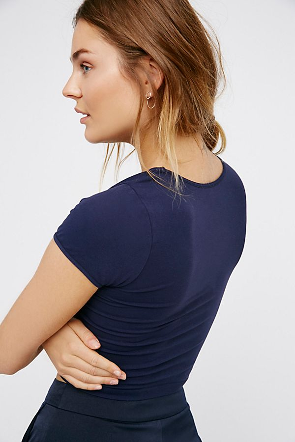 Free-People-Intimate-Cap-Sleeve-Seamless-Cami-Simple-Solid-Crop-Top-Colors-Xs-L thumbnail 35