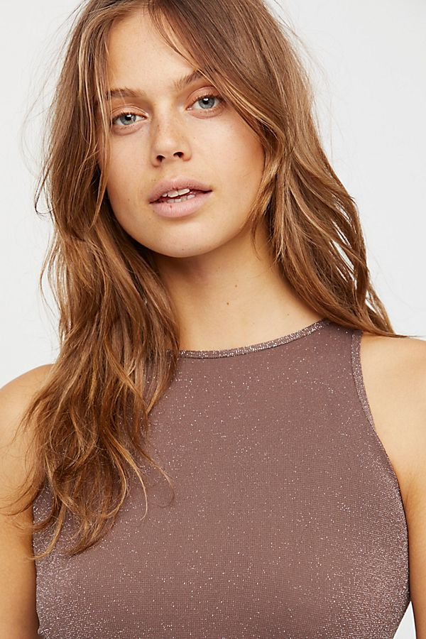 New-Free-People-Womens-Seamless-Sleeveless-Simple-High-Neck-Crop-Top-Xs-L-20 thumbnail 7