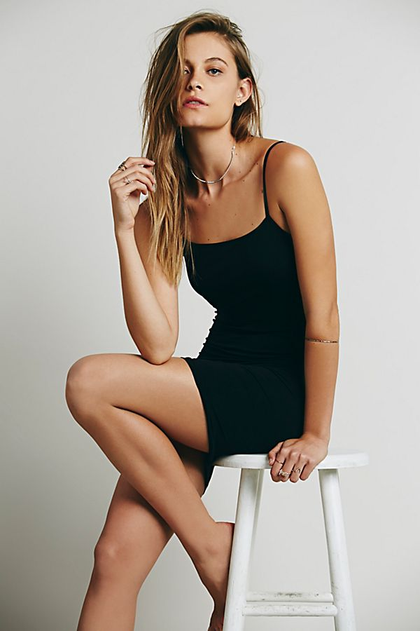 New-Free-People-Womens-Seamless-Sleeveless-Low-Back-Mini-Slip-Bodycon-Dress-30 thumbnail 9