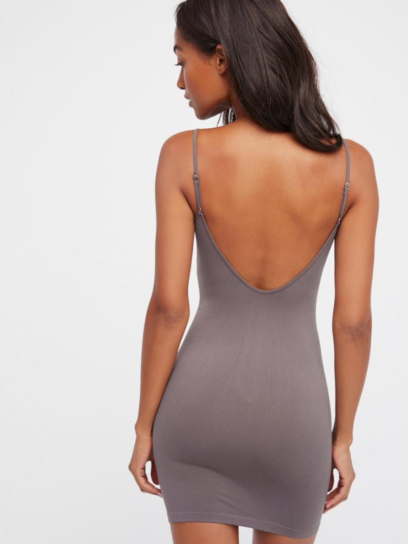 New-Free-People-Womens-Seamless-Sleeveless-Low-Back-Mini-Slip-Bodycon-Dress-30 thumbnail 4