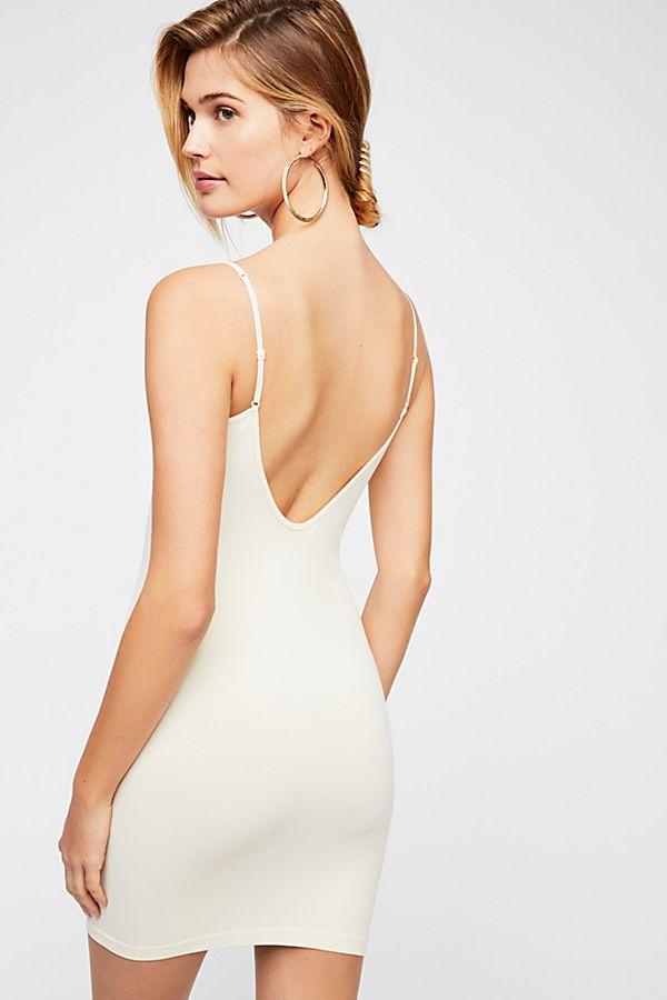 New-Free-People-Womens-Seamless-Sleeveless-Low-Back-Mini-Slip-Bodycon-Dress-30 thumbnail 6