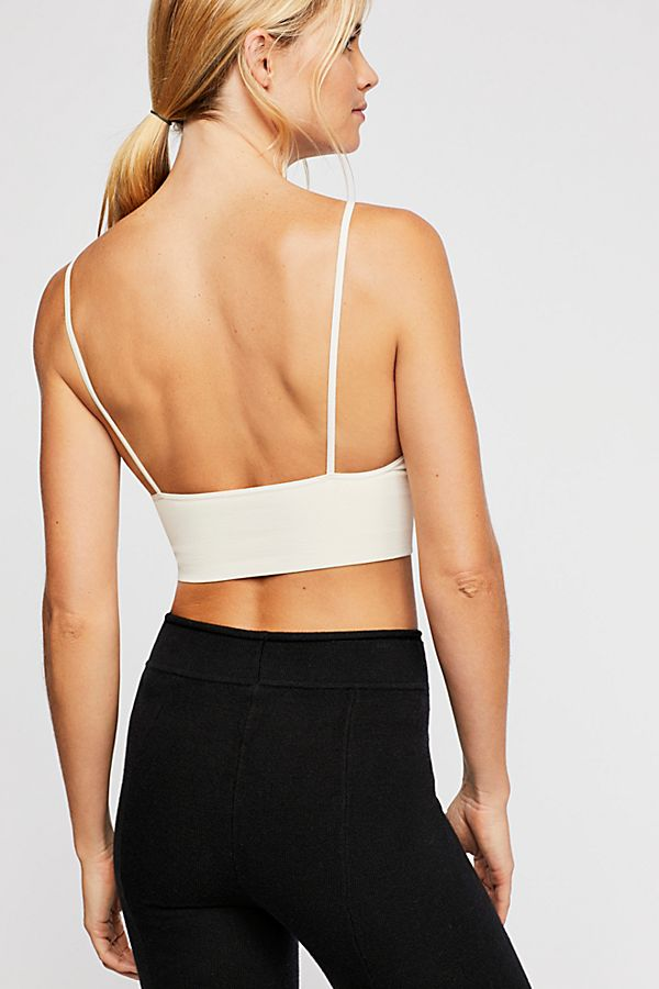 New-Free-People-Womens-Seamless-Stretchy-Ribbed-Ali-Low-Back-Bra-Xs-L-30 thumbnail 33
