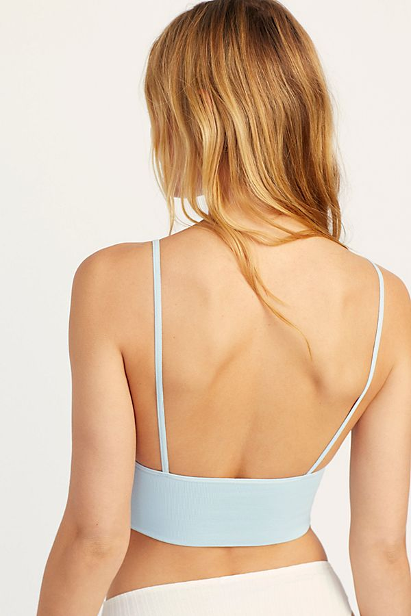 New-Free-People-Womens-Seamless-Stretchy-Ribbed-Ali-Low-Back-Bra-Xs-L-30 thumbnail 35