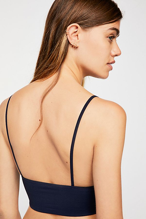 New-Free-People-Womens-Seamless-Stretchy-Ribbed-Ali-Low-Back-Bra-Xs-L-30 thumbnail 12