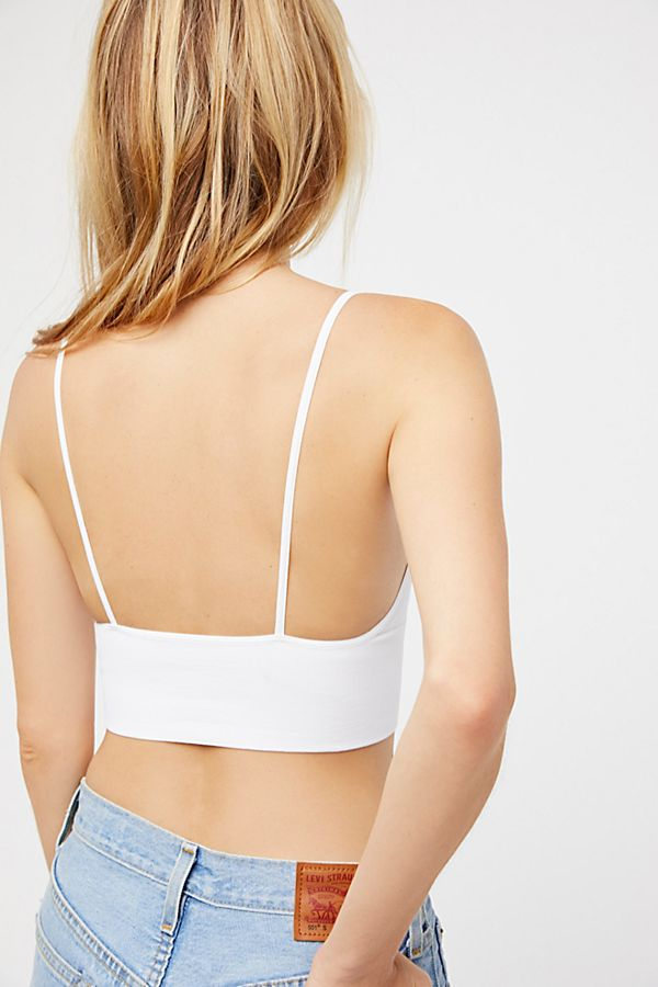 New-Free-People-Womens-Seamless-Stretchy-Ribbed-Ali-Low-Back-Bra-Xs-L-30 thumbnail 26