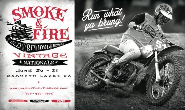 Smoke & Fire at Mammoth Moto-X
