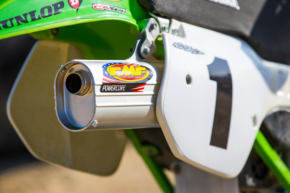 Sean Collier's KX500 | Fire Breather - Fasthouse