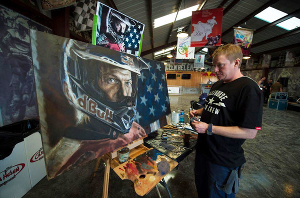 Artist Scott Dickson on his Kurt Caselli Portrait