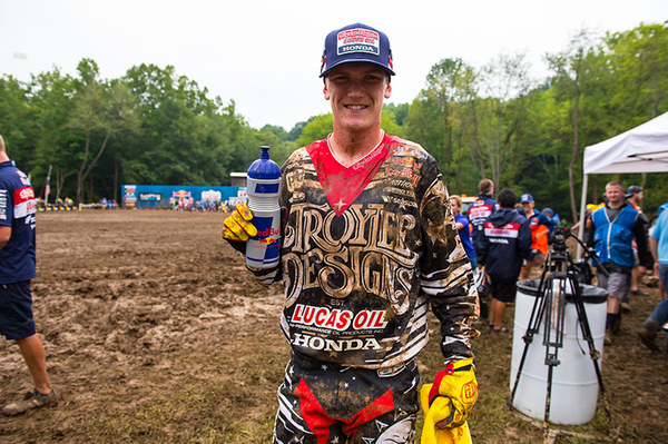Troy Lee Designs Score First National Motocross Win in Indiana Mud