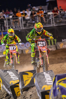 Troy Lee Designs / Lucas Oil / Honda Closes Supercross Season in Las Vegas AMA Supercross - Las Vegas, NV