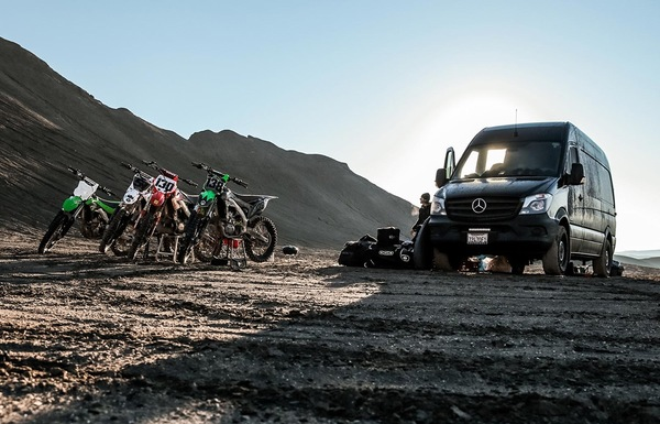 4,500 Miles. 11 Days. 4 Dirt Bikes. 4 Dudes. 1 Sprinter.