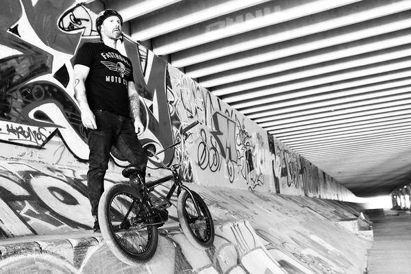 Chris Rhoades | Four Strings & Two Wheels