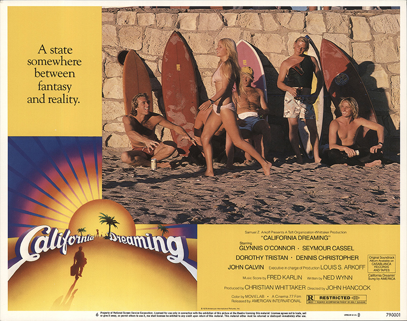 1979 Movie Posters: California Dreaming 1979 Original Movie Poster Comedy
