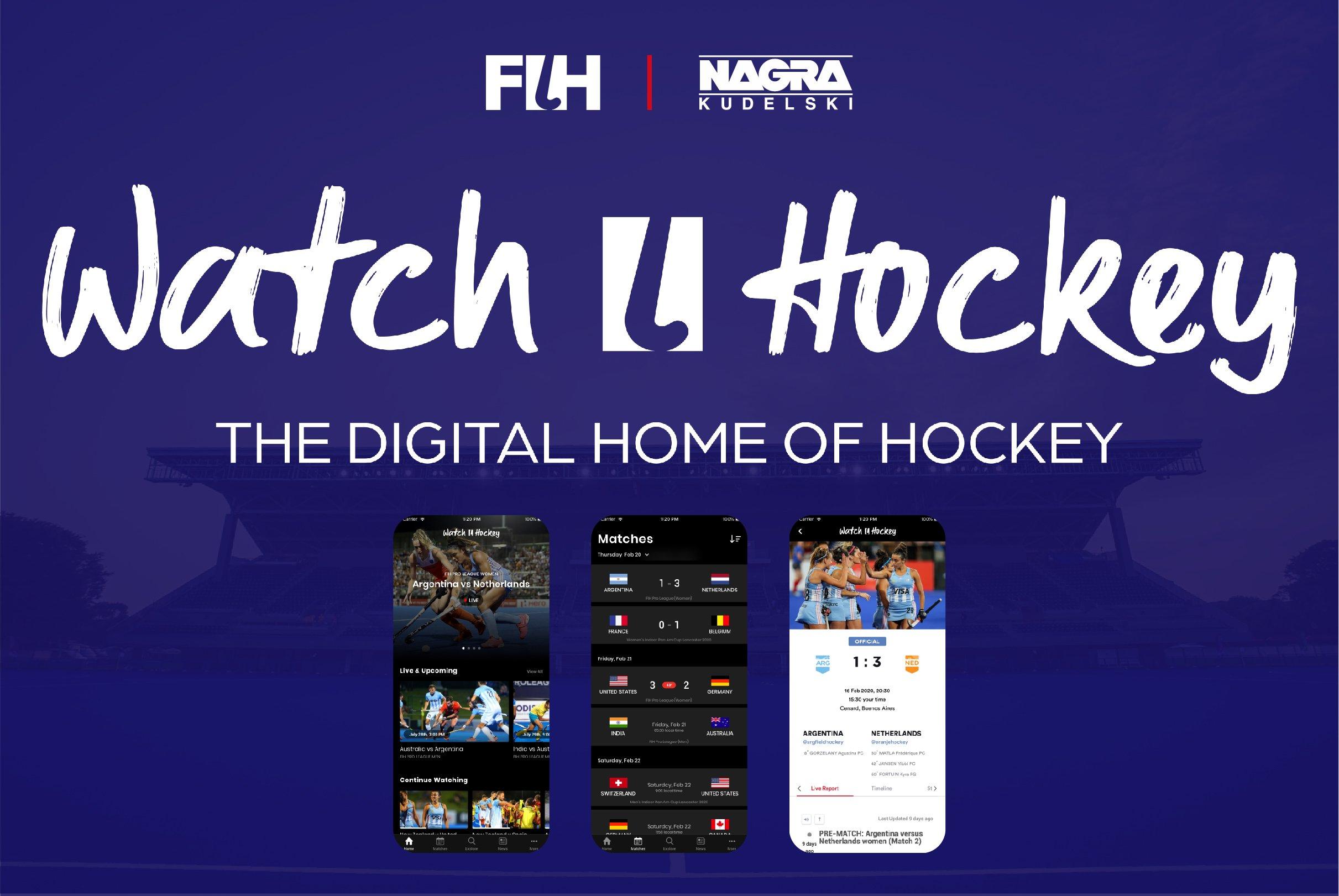 Watch Hockey App link