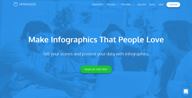 Venngage – for image creation