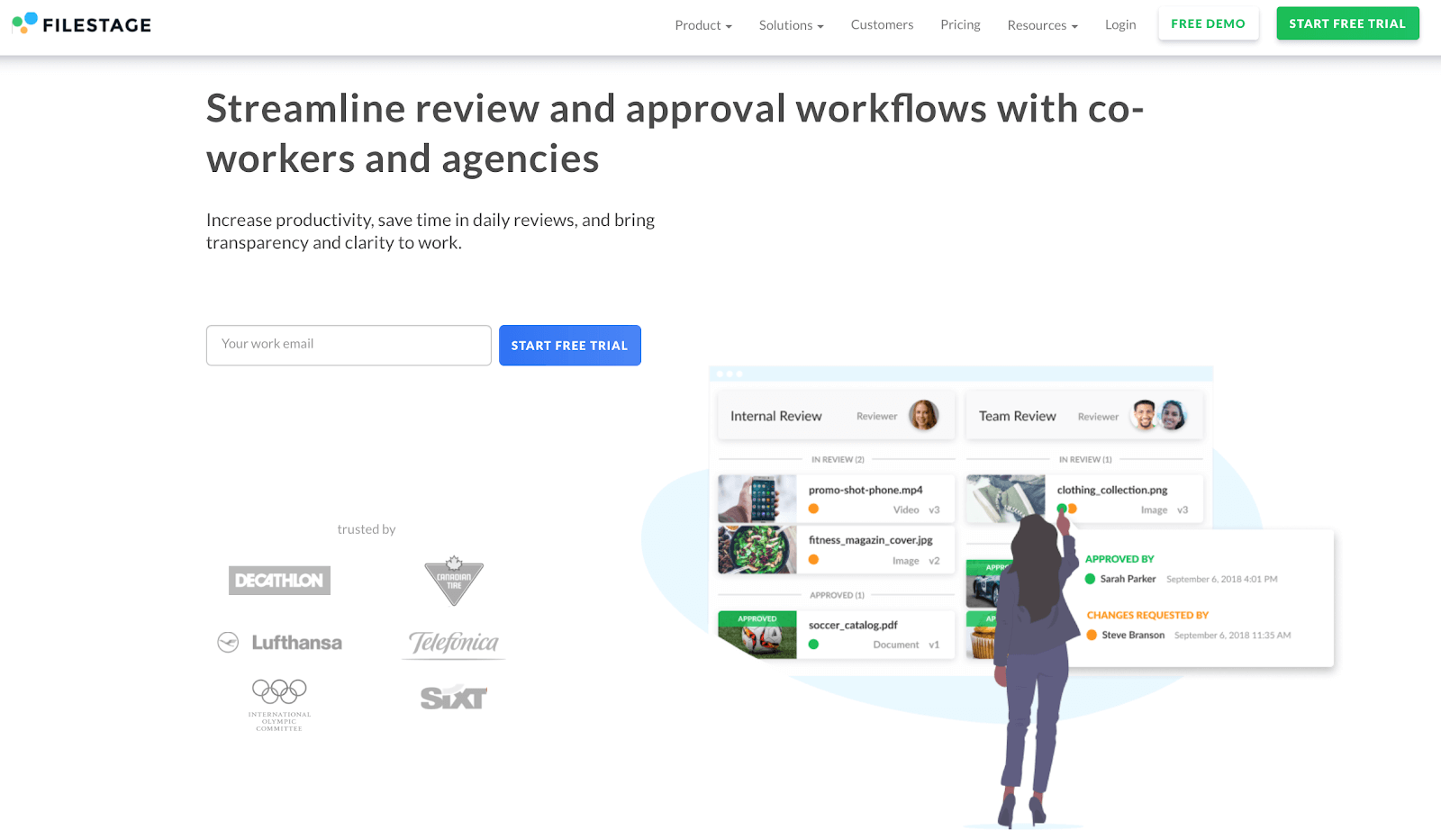 Filestage – for content review & approval