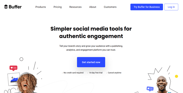 Buffer – for content promotion