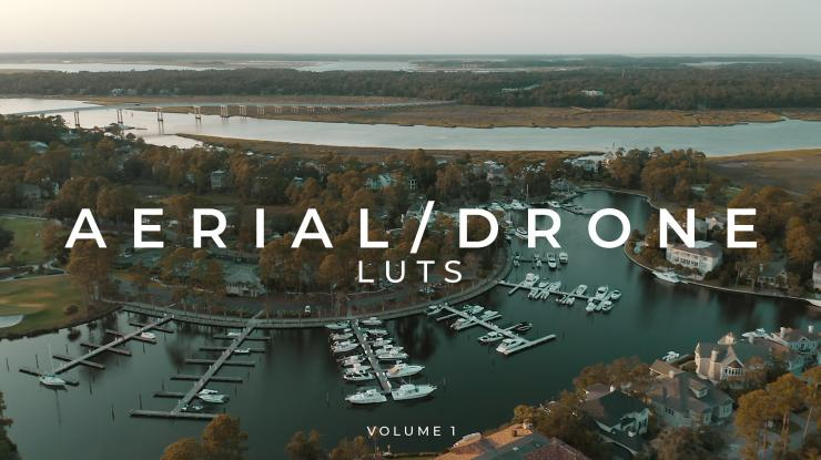 Aerial Drone LUTs Volume 1