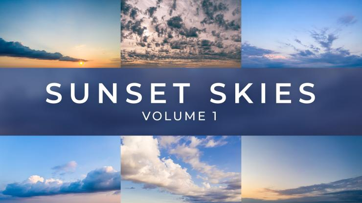 Luminar Sky Replacement Pack: Sunset Skies Volume 1