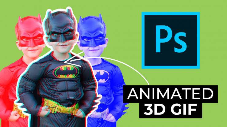 Animated 3D GIF in Photoshop