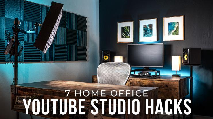 7 Tips to Streamline a Small Studio Space (My YouTube Office Setup Tour)