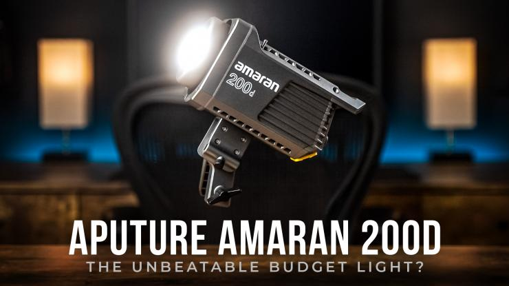 Aputure Amaran 200d Review | Best Budget LED Light for 2021? (+ Godox & Nanlite Comparison)