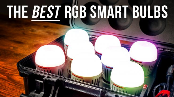 Aputure B7c 8-Light Kit Review | The BEST RGB Smart Bulb Just Got BETTER