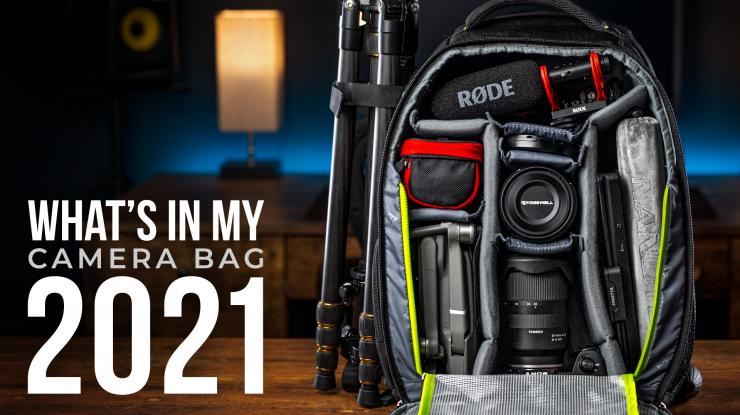 What's in My Camera Bag for 2021 (Besides the Sony a7S III) | Essential Content Creator Kit