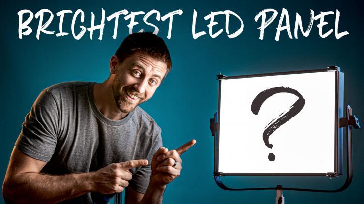 Brightest LED Panel Light? | D&O Lighting 180W Video Light Review