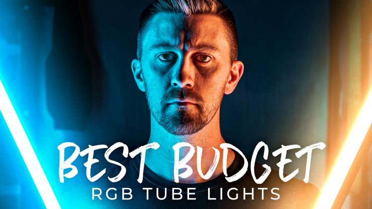 Best Budget RGB Tube Lights for Video | DigitalFoto Chameleon Review + Real World Lighting Setup