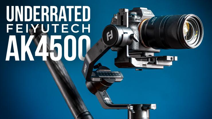 FeiyuTech AK4500 Quick Review | The Most Underrated Gimbal (8 Reasons Why)