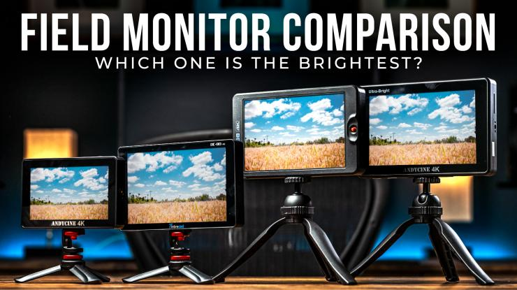 Which Camera Field Monitor Can Overpower the Sun? (Osee T7, Andycine A6 Plus & C7, Timbrecod DC-80)