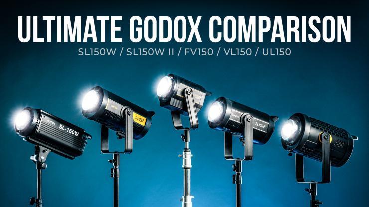 Ultimate Godox Light Showdown | Complete Feature Comparison (SL150W, SL150W II, FV150, VL150, UL150)