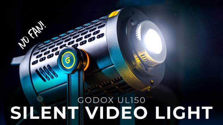 Godox UL150 Review | 100% SILENT LED Video Light (NO FAN!)
