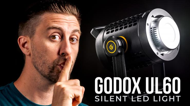 Godox UL60 Review   The Small, Silent Light