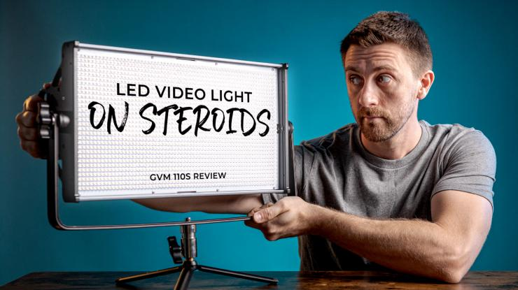 LED Video Light Panel on Steroids | GVM 110S Review